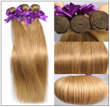 Long Honey Blonde Weave img 2-min