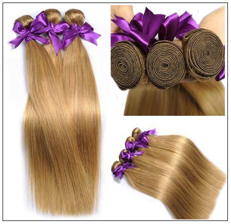 Long Honey Blonde Weave img 3-min