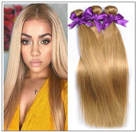 Long Honey Blonde Weave img-min