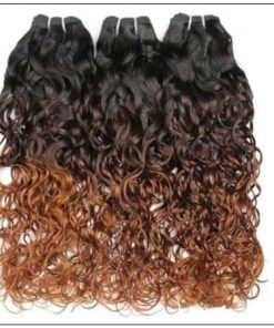Ombre Wet and Wavy Weave img 2-min