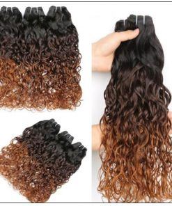 Ombre Wet and Wavy Weave img 3-min