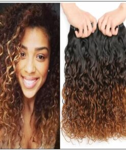 Ombre Wet and Wavy Weave img-min