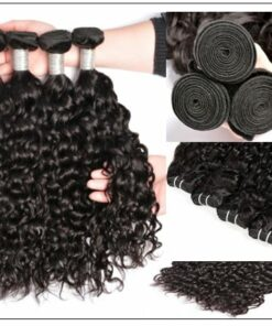 Wet and Wavy Hair Bundles With Closure img 3-min