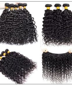 Wet and Wavy Human Hair Bundles img 4-min