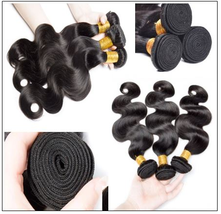 12 inch Brazilian body wave hair bundles img 2-min