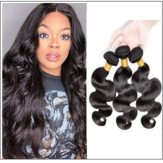 12 inch Brazilian body wave hair bundles img-min