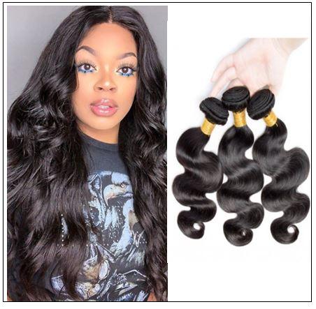 12 inch Brazilian body wave hair bundles img-min