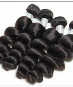 14 16 18 Brazilian Loose Wave Hair Extensions img 2-min