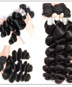 14 16 18 Brazilian Loose Wave Hair Extensions img 4-min