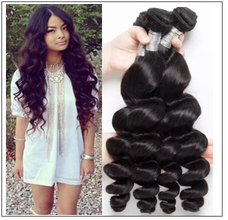 14 16 18 Brazilian Loose Wave Hair Extensions img-min