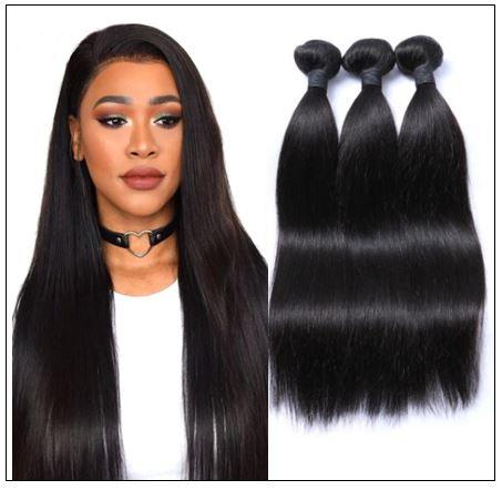 14 Inch Brazilian Straight Hair Weave img-min