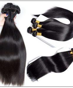 14 Inch Virgin Brazilian Hair Straight Hair Weave img 2-min