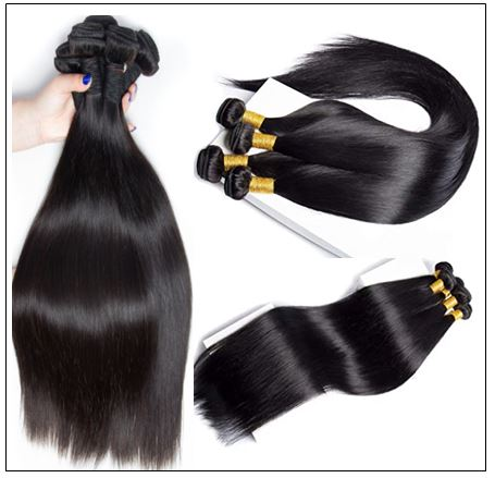 14 Inch Virgin Brazilian Hair Straight Hair Weave img 2-min