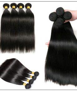 14 Inch Virgin Brazilian Hair Straight Hair Weave img 3-min