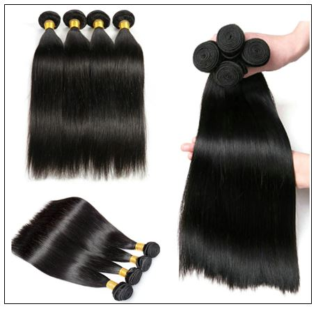 14 Inch Virgin Brazilian Hair Straight Hair Weave img 3-min