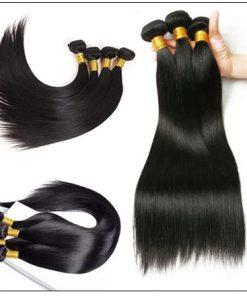 14 Inch Virgin Brazilian Hair Straight Hair Weave img 4-min