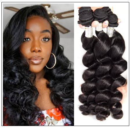 16 18 20 Brazilian Loose Wave Hair Extensions img-min