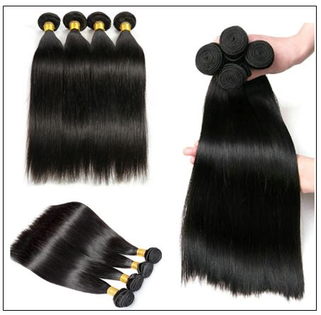 16 Inch Brazilian Hair Straight Hair Extensions img 2-min