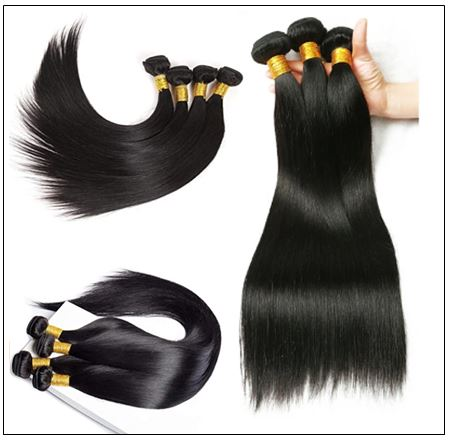 16 Inch Brazilian Hair Straight Hair Extensions img 3-min