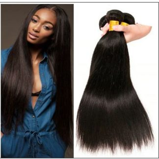 16 Inch Brazilian Hair Straight Hair Extensions img-min