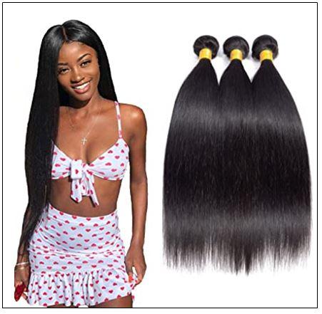 16 Inch Brazilian Hair Straight Hair Weave img-min