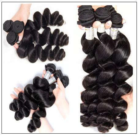 18 20 22 Brazilian Loose Wave Hair Weave img 3-min