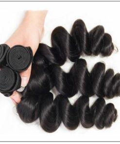 18 20 22 Brazilian Loose Wave Hair Weave img 4-min
