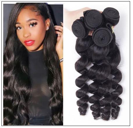 18 20 22 Brazilian Loose Wave Hair Weave img-min