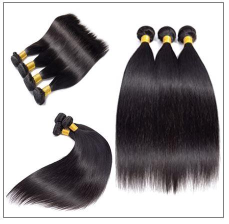 22 24 26 Inch Brazilian Hair Straight Hair Weave img 2-min