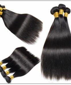 22 24 26 Inch Brazilian Hair Straight Hair Weave img 3-min