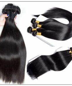 8 Inches Straight Brazilian Hair weave img 2-min