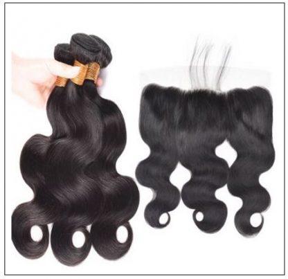 Brazilian Body Wave Frontal Hair Weave img 3-min