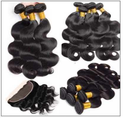 Brazilian Body Wave Frontal Hair Weave img 4-min