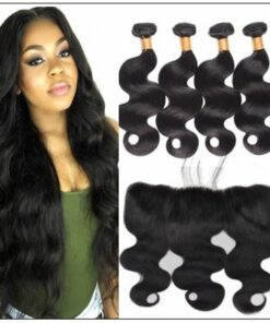 Brazilian Body Wave Frontal Hair Weave img-min