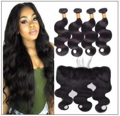 Brazilian Body Wave Frontal Hair Weave img-min