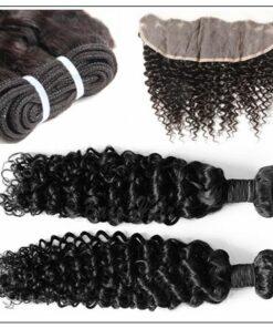 Brazilian Curly Frontal Hair Weave img 3-min