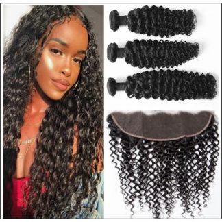 Brazilian Curly Frontal Hair Weave img-min