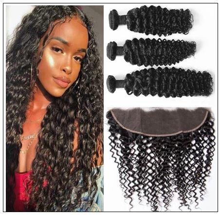 Brazilian Curly Frontal Hair Weave img-min