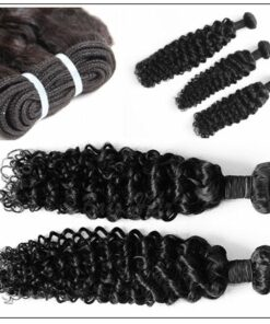 Brazilian Curly Hair Extensions With Closure img 4-min