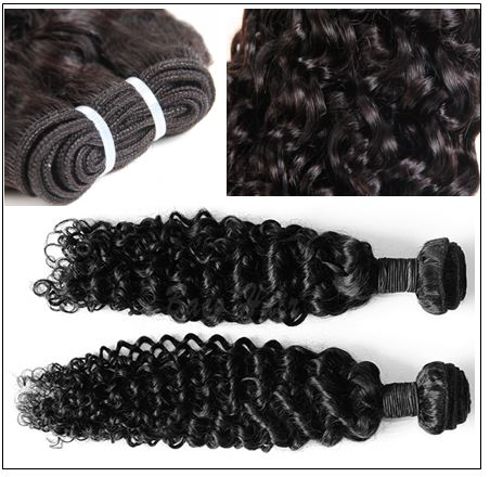 Brazilian Curly Virgin Wavy Hair Weave img 3-min