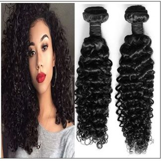 Brazilian Curly Virgin Wavy Hair Weave img-min