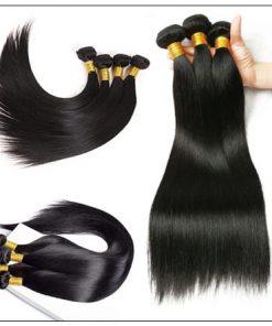 Brazilian Human Hair Bundles Straight Hair Extensions img 4-min