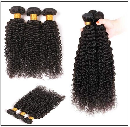 Brazilian Kinky Curly Hair Weave img 4-min