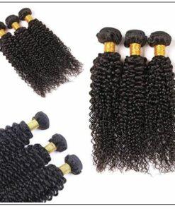 Brazilian Kinky Curly Remy Human Hair Weave img 3-min
