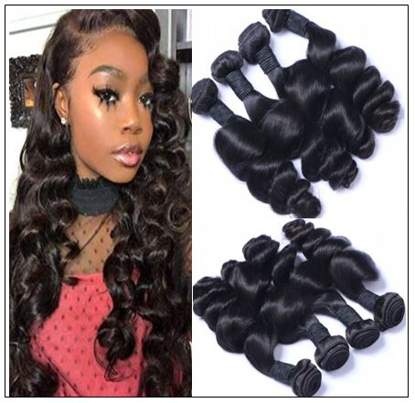 Brazilian Loose Curly Remy Virgin Hair Extensions img-min