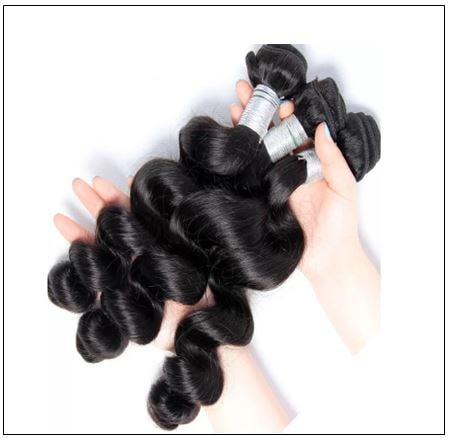 Brazilian Loose Wave Closure Hair Weave img 4-min