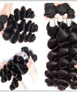 Brazilian Loose Wave Weave Hair Extensions img 2-min