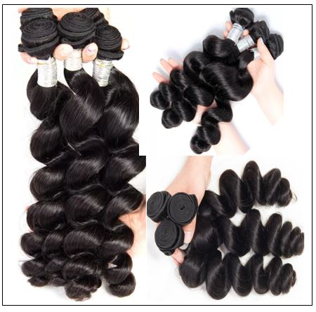 Brazilian Loose Wavy Hair Weave img 3-min