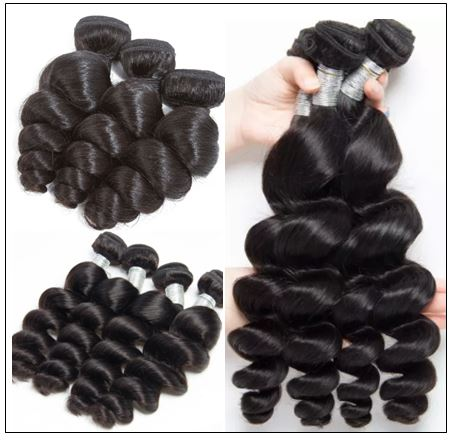 Brazilian Loose Wavy Hair Weave img 4-min