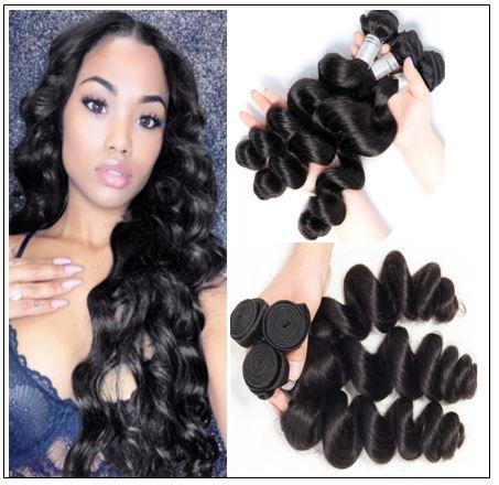 Brazilian Loose Wavy Hair Weave img-min